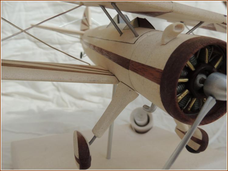 Boeing PT-17 détails moteurs