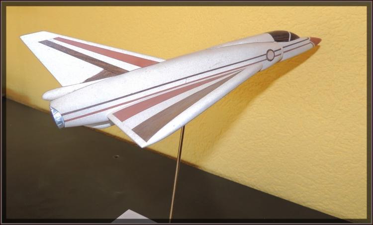 Mirage 3 O profil droit